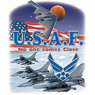 U.S.A.F.-No one comes Close Shirts