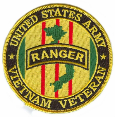 US Army Ranger Vietnam Veteran Patch