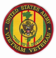 US Army Vietnam Veteran Patch