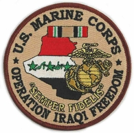 US Marine Corps Operation Iraqi Freedom Patch