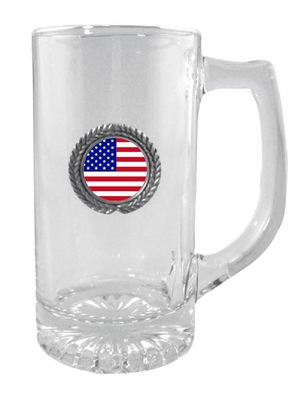 USA Glass Stein
