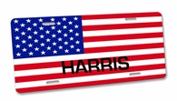 USA License Cover