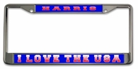 USA License Plate Frame