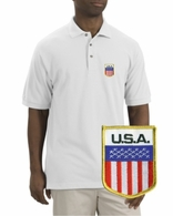 USA Patch Polo