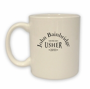 Usher Coffee Mug