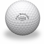 usher golf gifts