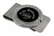 Usher Pewter Money Clip