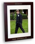Usher Rosewood Picture Frame