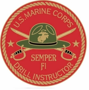 USMC Drill Instructor Pin
