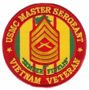 USMC Vietnam Rank Patches