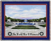 World War II Memorial Throw