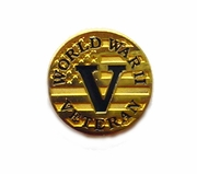 World War II Veteran Pin