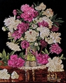 Counted Cross Stitch Kit Peonies Vase From Design Works