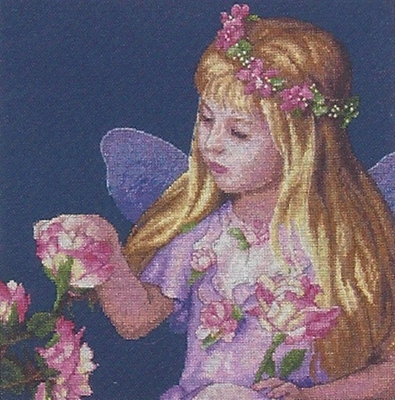 Cross Stitch Kit Rose Fairy From Dimensions