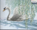 Cross Stitch Kit Willow Swan From Dimensions