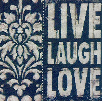 Cross Stitch Kit Words to Inspire From Dimensions