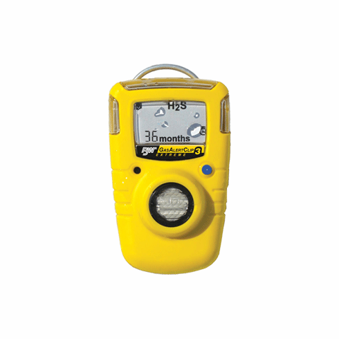 Gas Alert Clip Extreme 3 H2S Monitor  36 Month