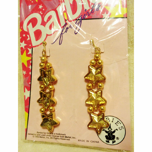 Barbie Star Dangle Earrings