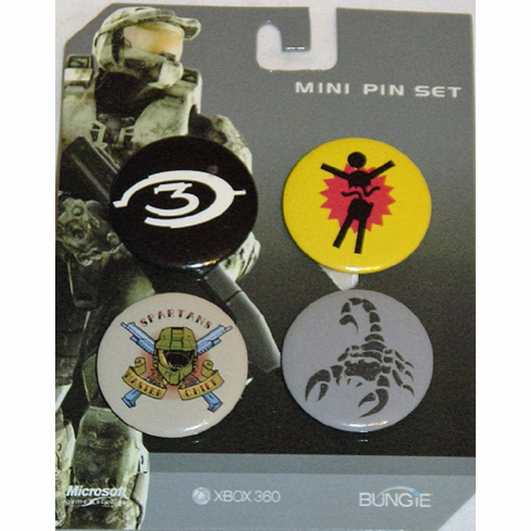 Halo Mini Pin Set