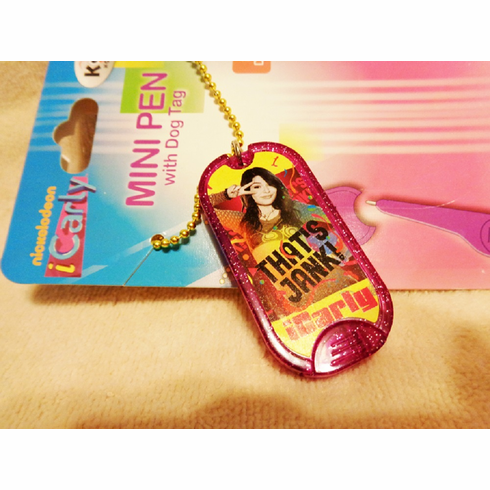 iCarly Dog Tag Necklace for Children