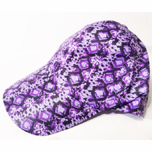Purple Camo Cap
