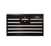 "33"" Eight Drawer Black Tool Chest"