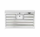 "33"" Eight Drawer White Tool Chest"