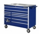 "55"" W Eleven Drawer Blue Professional Roller Tool Cabinet"