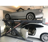 6000lb Column-Less Low Profile Car Lift
