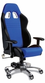Blue Car Office Chair