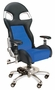Blue Race Car Office Chair