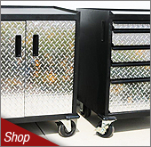 Diamond Plate and Steel Cabinets