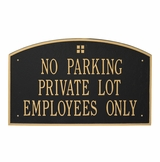 Large Customized Cast Aluminum 4 Square Sign