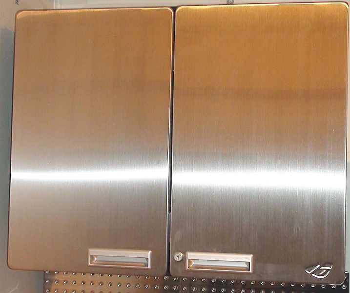 10 Foot Stainless Steel Workstation Cabinets: 10 Foot Stainless Steel Cabinet And Workbench Package