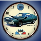 Lighted 1968 American Motors AMX Clock