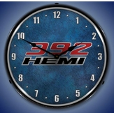 Lighted 392 Hemi Clock