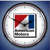 Lighted American Motors Clock