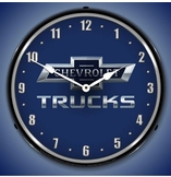 Lighted Chevrolet Trucks 100th Anniversary Clock
