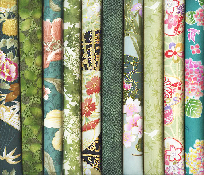 Asian Fat Quarters 28