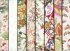 8 IVORY ASIAN JAPANESE FAT QUARTERS (2 YDS)