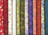 12 Multi-Color Coordinated Fat Quarters - 3 Yards