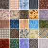 25 Japanese Taupe Fat Quarter Quilt Fabric Bundle - 6 1/4 Yds