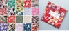 "Assorted Asian Fabric Charm Pack: Set of 40 - 5"" x 5"""