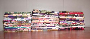20 Asian Japanese Fat Quarter Variety: (5 Yds.)