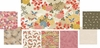 8 Japanese Garden Fat Quarter Bundle (2 Yards)