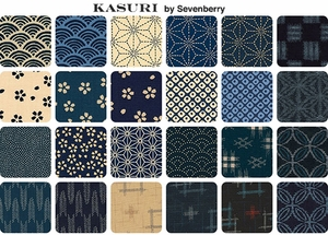 AVAILABLE NOW!  KASURI by Sevenberry: 23 Designs