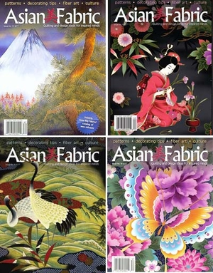ASIAN FABRIC MAGAZINES By Kona Bay Fabrics