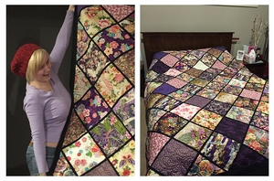 Birthday Quilt by Kylie in NSW, Australia