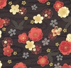 CELEBRATION: Flowers Adrift - Black/Gold (1/2 Yd.)