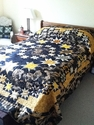 """""""Celestial Stars"""" Quilt by Careen in BC, Canada"""